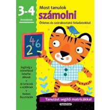 Napraforgó Kiadó - MOST TANULOK SZÁMOLNI (3-4 ÉVESEKNEK) ajándékkönyv