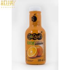 Narancs 100%-os préselt gyümölcslé üdítő, ásványviz, gyümölcslé