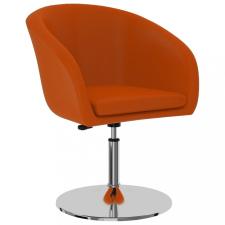 Narancssárga műbőr étkezőszék bútor