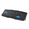 Natec Fury Gaming Keyboard TYPHOON USB; US kiosztás; Black