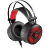 Natec Genesis Neon 360 fekete-piros