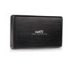 Natec RHINO 3.5'' SATA HDD-hez, fekete alumínium Ext USB 3.0 ház