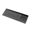 Natec Wireless Keyboard TURBOT with touch pad for SMART TV; 2.4 GHz; X-Scissors