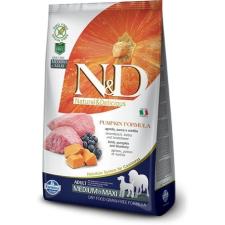 Natural & Delicious; Farmina N&D Dog Grain Free bárány&áfonya sütőtökkel puppy medium/maxi 12kg kutyaeledel