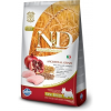 Natural & Delicious; Farmina N&D Low Grain Csirke+Gránátalma Kistestű Kutya 800g
