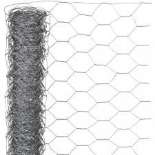 NATURE hatszögletű horganyzott acél drótháló 1 x 5 m 13 mm kerti dekoráció