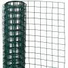 NATURE zöld négyszögletű műanyag bevonatú acél drótháló 0,5x2,5m 13mm