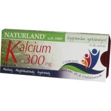 NATURLAND KALCIUM 300MG TABLETTA 30DB táplálékkiegészítő