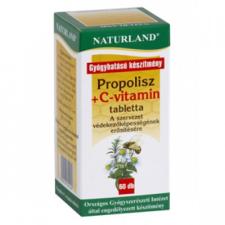 Naturland Propolisz + C-vitamin tabletta vitamin