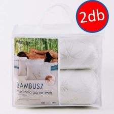 Naturtex Bamboo prémium memóriahab 2 db-os párna szett lakástextília