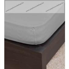 NATURTEX Szürke jersey gumis lepedő, 90-100x200 cm ágy és ágykellék