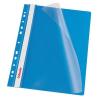 Nebuló Gyorsfűző, lefűzhető, PP, A4, ESSELTE, kék - 10db/csomag