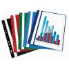 Nebuló Gyorsfűző, lefűzhető, PP, A4, VICTORIA, fekete - 20db/csomag