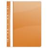 Nebuló Gyorsfűző, lefűzhető, PVC, A4, DONAU, narancssárga - 10db/csomag