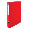 Nebuló Gyűrűs könyv, 2 gyűrű, 35 mm, A4, PP/karton, VICTORIA, piros
