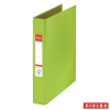 "Nebuló ""Gyűrűs könyv, 2 gyűrű, 42 mm, A5, PP, ESSELTE """"Standard"""", Vivida zöld"""