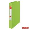 "Nebuló ""Gyűrűs könyv, 4 gyűrű, 42 mm, A4, PP, ESSELTE """"Standard"""", Vivida zöld"""