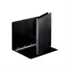 Nebuló Gyűrűs könyv, panorámás, 4 gyűrű, 25 mm, A4, PP, ESSELTE, fekete