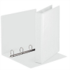 Nebuló Gyűrűs könyv, panorámás, 4 gyűrű, D alakú, 50 mm, A4, PP, ESSELTE, fehér