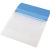 Nebuló Irattartó tasak, A4, PP, 5 részes, PANTA PLAST, kék