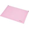 Nebuló Irattartó tasak, A4, PP, cipzáras, talpas, PANTA PLAST, pasztell rózsaszín