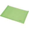 Nebuló Irattartó tasak, A4, PP, cipzáras, talpas, PANTA PLAST, pasztell zöld