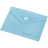 Nebuló Irattartó tasak, A6, PP, patentos, PANTA PLAST, pasztell kék