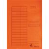 Nebuló Pólyás dosszié, karton, A4, VICTORIA, narancs