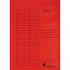 Nebuló Pólyás dosszié, karton, A4, VICTORIA, piros - 5db/csomag