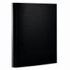 Nebuló Tépőzáras mappa, 35 mm, PP/karton, merevített, A4, DONAU, fekete