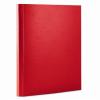 Nebuló Tépőzáras mappa, 35 mm, PP/karton, merevített, A4, DONAU, piros