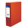 Nebuló Tokos iratrendező, 75 mm, A4, karton, VICTORIA, narancs