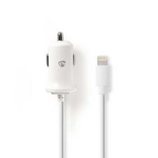 Nedis Nedis Autós töltő | 2,4 A | Fix Lightning kábel | Fehér kábel és adapter