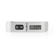Nedis Nedis Digitális Poggyászmérleg | 50 kg/110 font | Hőmérő