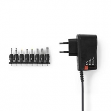 Nedis Nedis Univerzális hálózati adapter | 3/4,5/6/7,5/9/12 VDC | 0,7 A - 1,5 A egyéb hálózati eszköz