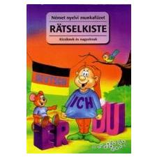 NÉMET NYELVI MUNKAFÜZET - RATSELKISTE nyelvkönyv, szótár