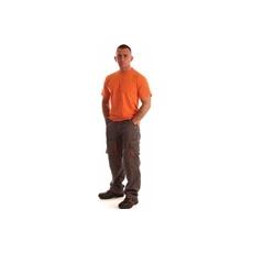 NEMMEGADOTT munkaruha derekasnadrág ROCK szürke-narancs (M)