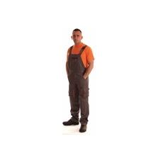 NEMMEGADOTT munkaruha kertésznadrág ROCK szürke-narancs (L)