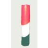 Nemzeti színű henger gyertya 30 cm