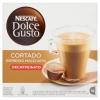 NescafÉ Nescafé Dolce Gusto Cortado Espresso Macchiato teljes tejpor koffeinmentes kávéval 16 db 99,2 g