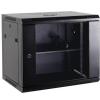 """Netrack Fai szekrény 19"""" 15U/600 mm szürke üveg ajtó"""