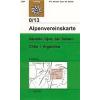 Nevado Ojos del Salado (Chile, Argentinien) turistatérkép - Alpenvereinskarte 0/13