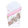 NEW BABY | Áruk | Pólyakendő New Baby rózsaszín elefántos | Rózsaszín |