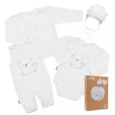 NEW BABY Baba együttes New Baby Sweet Bear fehér