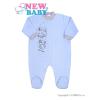 NEW BABY Baba kezeslábas New Baby Barátok kék   Kék   86 (12-18 h)