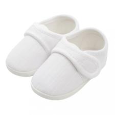 NEW BABY Baba kiscipő New Baby Linen fehér 0-3 h gyerek cipő