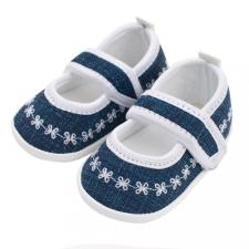 NEW BABY Baba kislányos cipő New Baby Jeans fehér 12-18 h gyerek cipő
