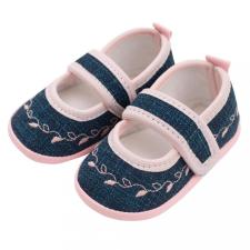 NEW BABY Baba kislányos cipő New Baby Jeans rózsaszín 12-18 h gyerek cipő