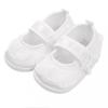 NEW BABY Baba kislányos cipő New Baby szatén fehér 6-12 h