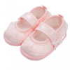 NEW BABY Baba kislányos cipő New Baby szatén rózsaszín 6-12 h